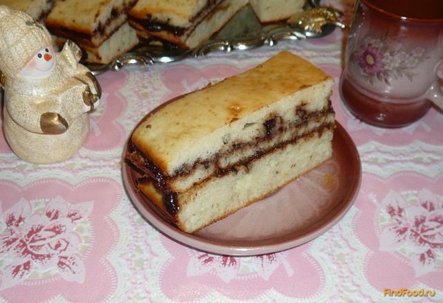 Рецепт Домашнее пирожное с повидлом рецепт с фото