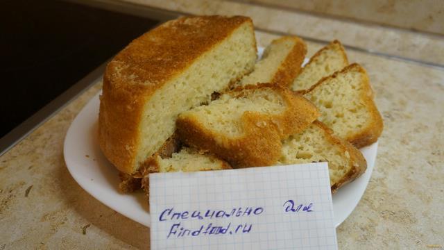 Рецепт Домашний хлеб в духовке рецепт с фото