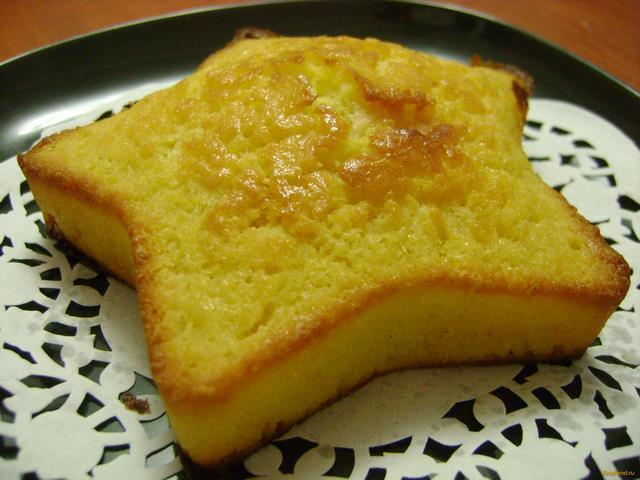 Рецепт Апельсиновый кекс с белым шоколадом рецепт с фото
