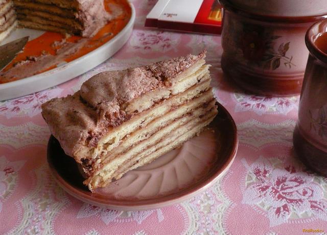 Белковый крем для пирога рецепт