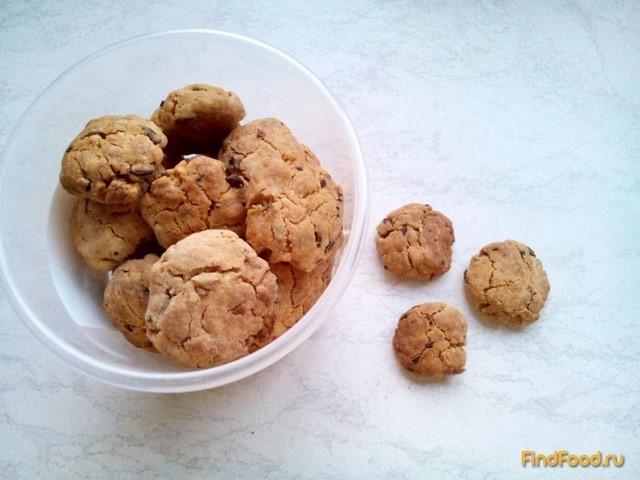 Рецепт Печенье с семечками на фруктозе рецепт с фото