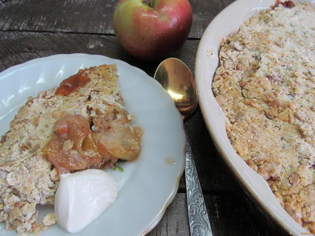 Яблочный гратен рецепт