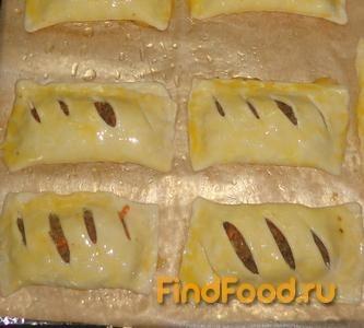 Домашние слойки с печенью рецепт с фото пошаговый Едим 34