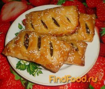 Домашние слойки с печенью рецепт с фото пошаговый Едим 92
