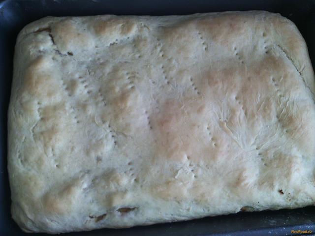 Рецепт Пирог с квашеной капустой рецепт с фото