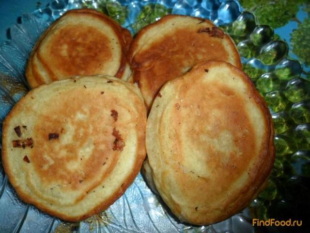 Рецепт Оладьи с рыбными консервами рецепт с фото