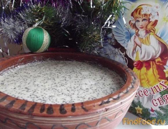 Рецепт Рождественская кутья рецепт с фото
