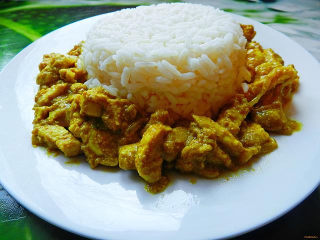 курица карри классический рецепт с фото