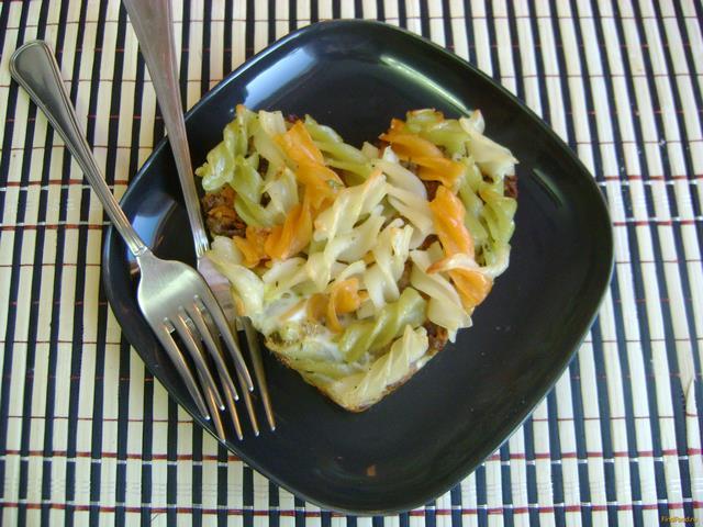 Рецепт Запеканка из макарон и куриной печени рецепт с фото