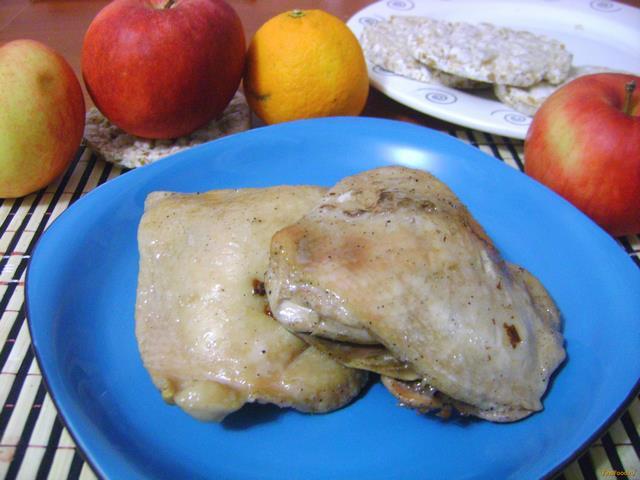 Рецепт Курица в шампанском рецепт с фото