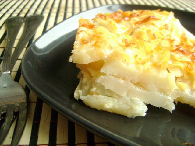 Рецепт Картофель запеченный в молоке рецепт с фото