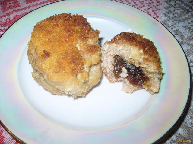 Рецепт Котлеты из свинины с черносливом и розмарином рецепт с фото