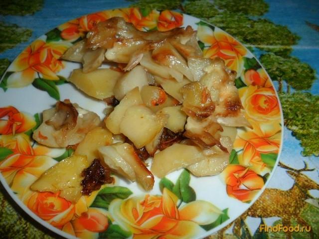 Рецепт Картошка по-французски с салом и морковкой рецепт с фото