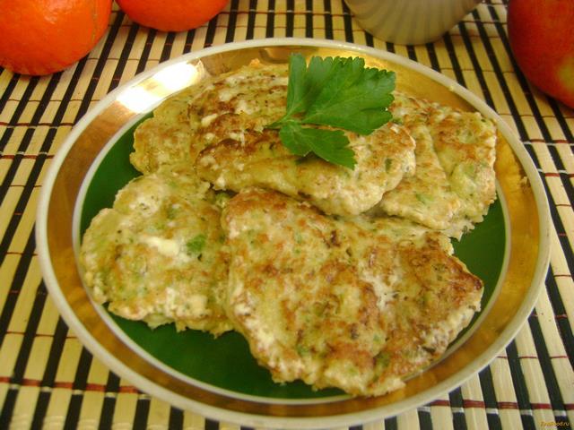 Рецепт Мясные оладьи с кабачками рецепт с фото