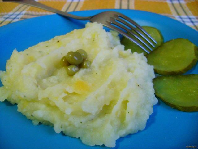 Рецепт Пюре из картофеля и репы рецепт с фото