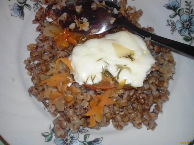 Рецепт Гречневая каша с курицей рецепт с фото