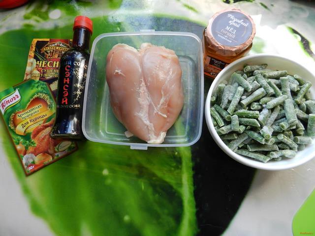 Курица по-китайски рецепт с фото 1-го шага
