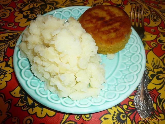 Рецепт Картофельное пюре с чесноком рецепт с фото