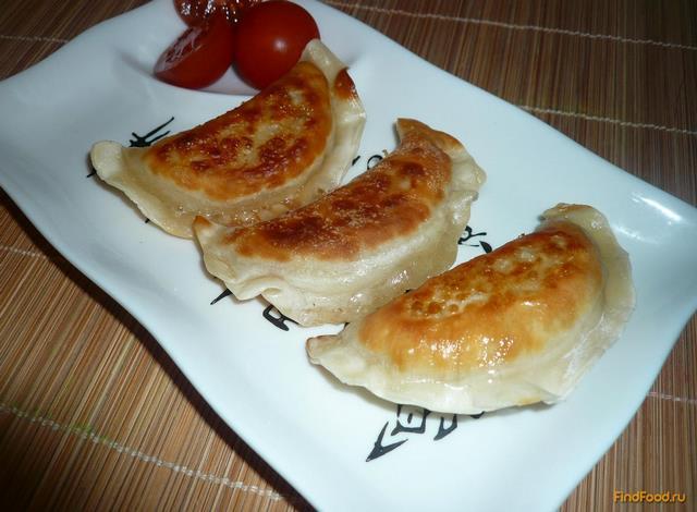 Рецепт Постные вареники с картошкой рецепт с фото