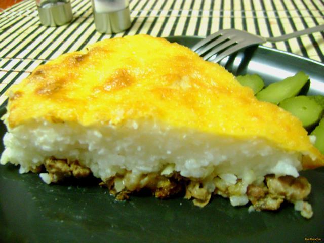Рецепт Свинина запеченная с сыром и рисом рецепт с фото