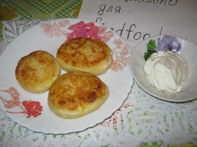 Рецепт Бананово-тыквенные сырники рецепт с фото