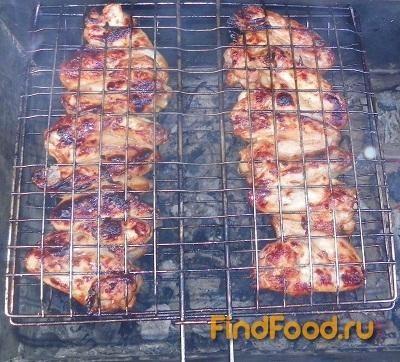 Рецепт Барбекю из куриных крылышек рецепт с фото
