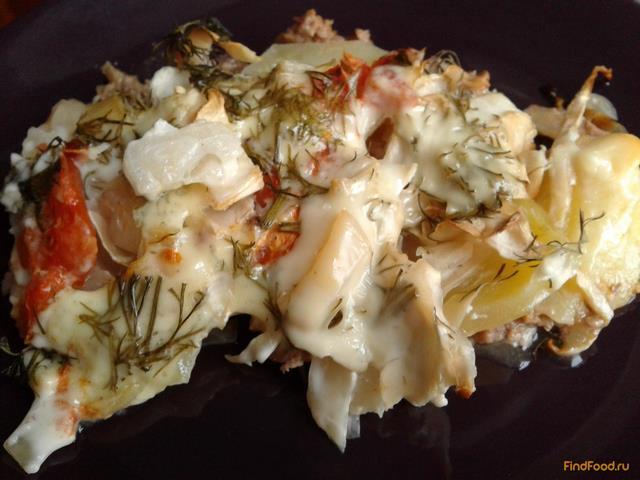 Рецепт Запеканка с фаршем и капустой рецепт с фото