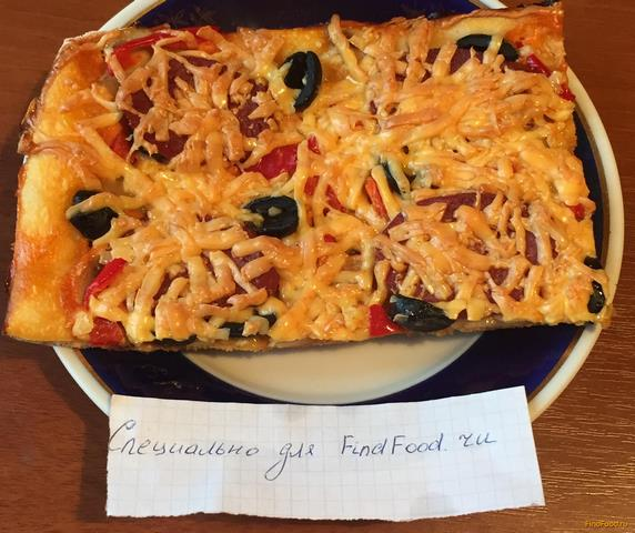 пицца пепперони рецепты приготовления с фото
