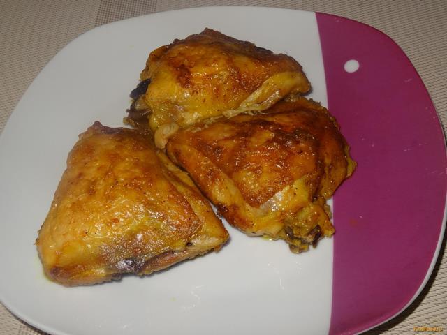 Рецепт приготовления куриных бедрышек