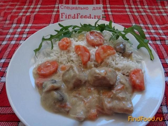 Рецепт Бланкет дю Вьянд рецепт с фото