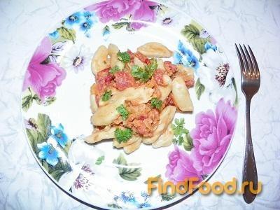 Рецепт Домашние клецки с соусом из томатов рецепт с фото