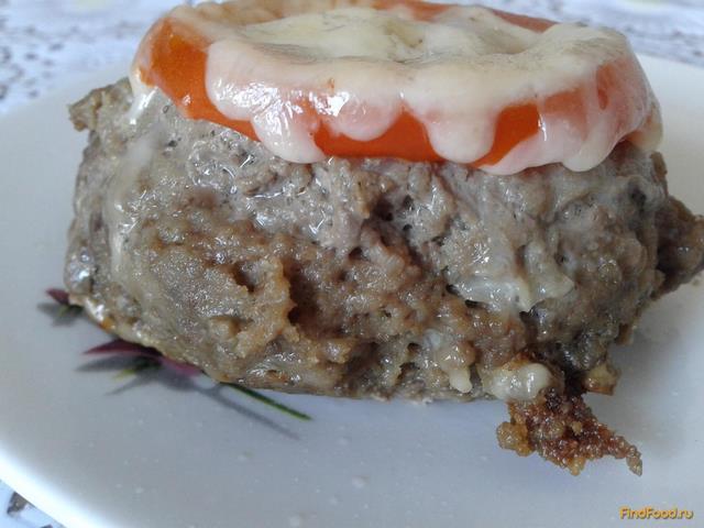 Рецепт Зразы с помидором и сыром рецепт с фото