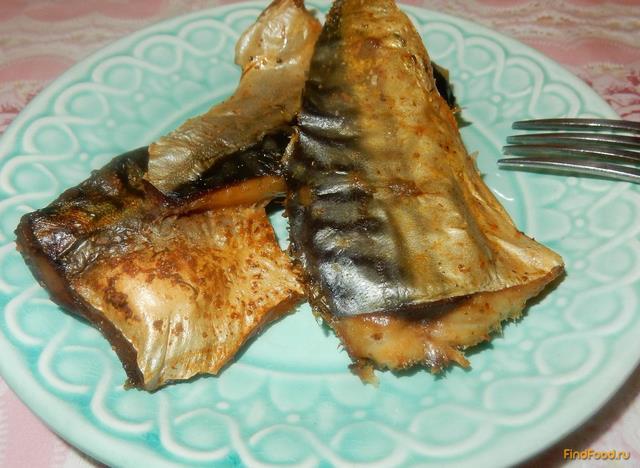 Рецепт Скумбрия жареная в духовке рецепт с фото