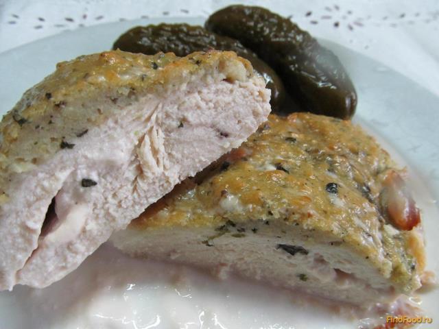 Рецепт Куриное филе под хлебным соусом рецепт с фото