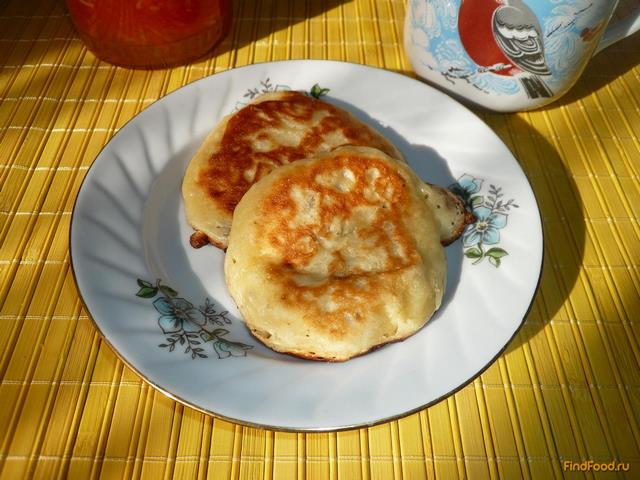 Рецепт Оладьи с манкой на ряженке рецепт с фото