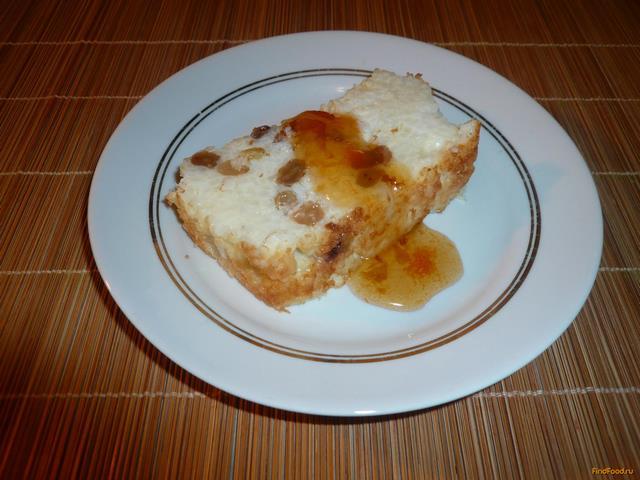 Рецепт Рисовая запеканка с изюмом рецепт с фото