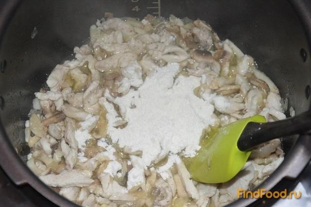 Жюльен в булочках рецепт с фото 9-го шага