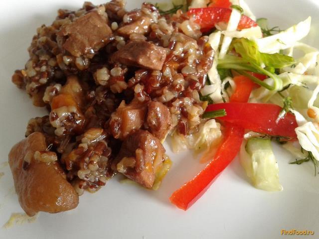 Рецепт Плов из красного риса рецепт с фото