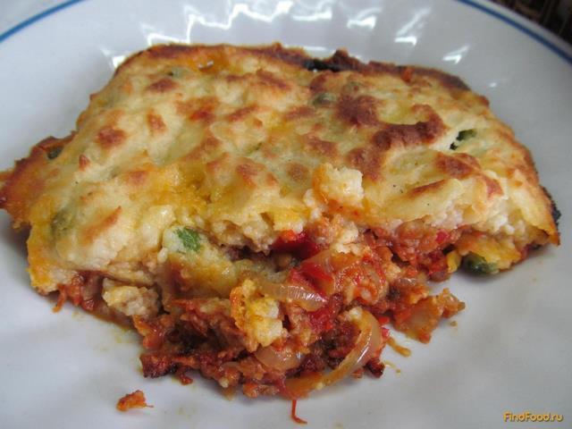 Рецепт Английский пастуший пирог рецепт с фото