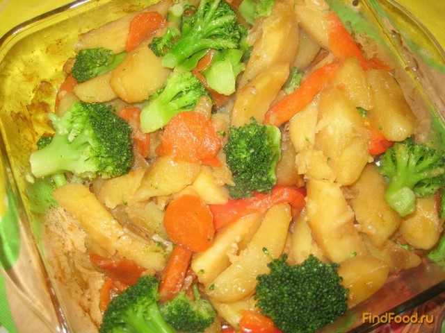 как приготовить гарнир из брокколи сыра и картошки