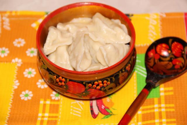 Рецепт Вареники с сырой картошкой рецепт с фото