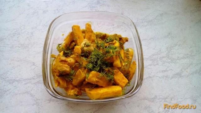 Рецепт Тушеный сельдерей с грибами рецепт с фото