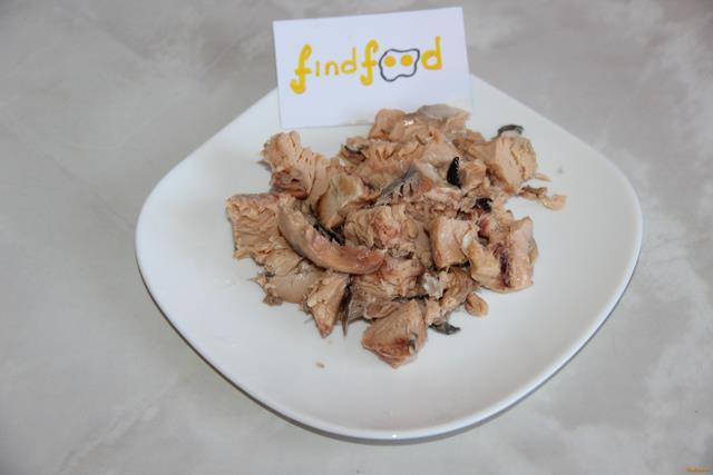 Картофель с консервированной горбушей рецепт с фото 4-го шага