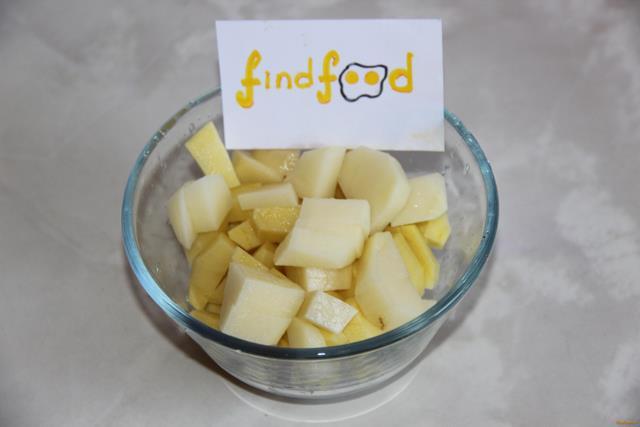 Картофель с консервированной горбушей рецепт с фото 5-го шага