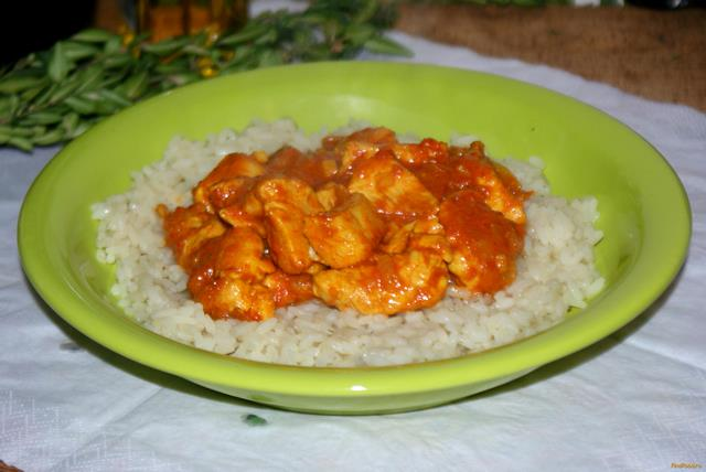 Рецепт Курица в соусе карри рецепт с фото