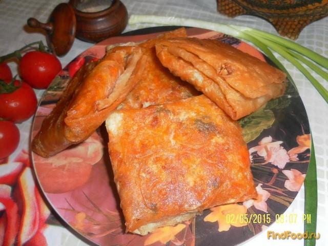 Рецепт Конверты из лаваша с капустой рецепт с фото