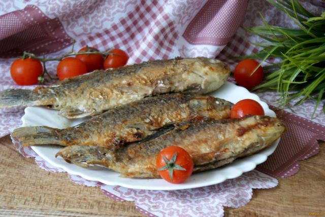 Рецепт Жареные караси со специями рецепт с фото