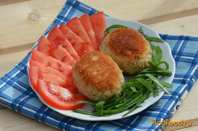Рецепт Рыбные котлеты с геркулесом рецепт с фото