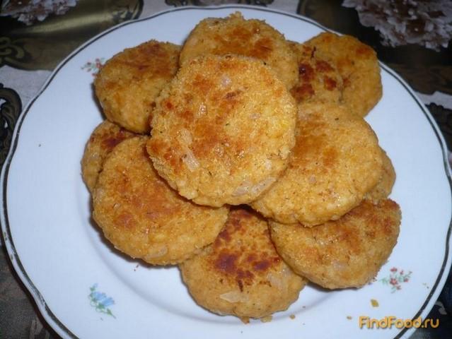 Рецепт Чечевичные котлеты с кус-кусом рецепт с фото