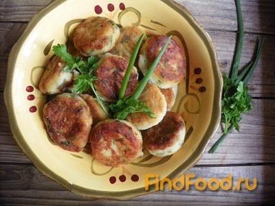 Рецепт Картофельные зразы с зеленью рецепт с фото